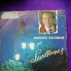 Discos de vinilo: MANOLO ESCOBAR. SINGLE. VINILO. Lote 205545281