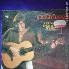 Discos de vinilo: JOSÉ FELICIANO. SINGLE. VINILOS. Lote 205546435