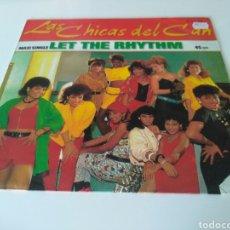 Discos de vinilo: LAS CHICAS DEL CAN - LET THE RHYTHM. Lote 205546666