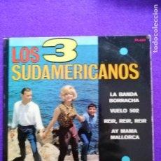 Discos de vinilo: LOS TRES SUDAMERICANOS. Lote 205546676
