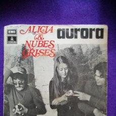 Discos de vinilo: ALICIA Y NUBES GRISES. SINGLE, VINILO. Lote 205547396