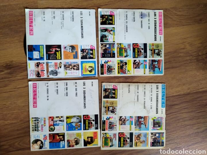 Discos de vinilo: lote Los tres sudamericanos - Foto 2 - 205547432