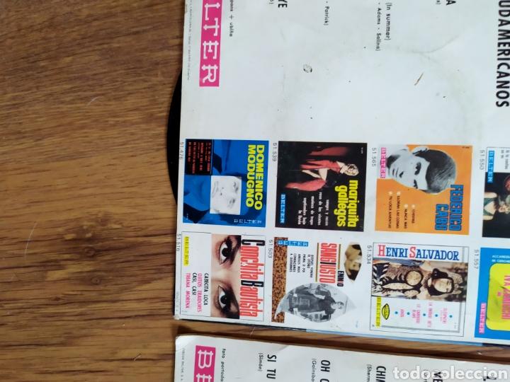 Discos de vinilo: lote Los tres sudamericanos - Foto 3 - 205547432