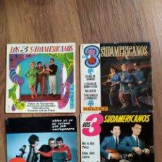 Discos de vinilo: LOTE LOS TRES SUDAMERICANOS. Lote 205547432
