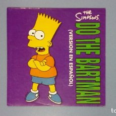Discos de vinilo: EP DO THE BARTMAN VERSIÓN EN ESPAÑOL DISCO VINILO. Lote 205551577
