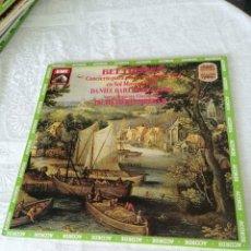 Discos de vinilo: BEETHOVEN. CONCIERTO PARA PIANO Y ORQUESTA N°4, OP.58. DANIEL BARENBOIM.OTTO KLEMPERER.EMI.LP.1984.. Lote 205555478