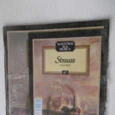 Discos de vinilo: MAESTROS DE LA MUSICA - STRAUSS- PLANETA-AGOSTINI - Nº 67 - - SIN DESPRECINTAR. Lote 205557632