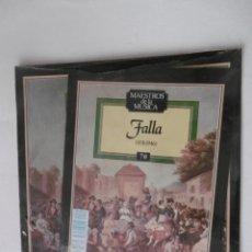 Discos de vinilo: MAESTROS DE LA MUSICA - FALLA - PLANETA-AGOSTINI - Nº 70 - SIN DESPRECINTAR. Lote 205557851