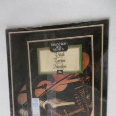 Discos de vinilo: MAESTROS DE LA MUSICA - VITALI - TARTINI Y NARDINI - PLANETA-AGOSTINI - Nº 86 - - SIN DESPRECINTAR. Lote 205558406