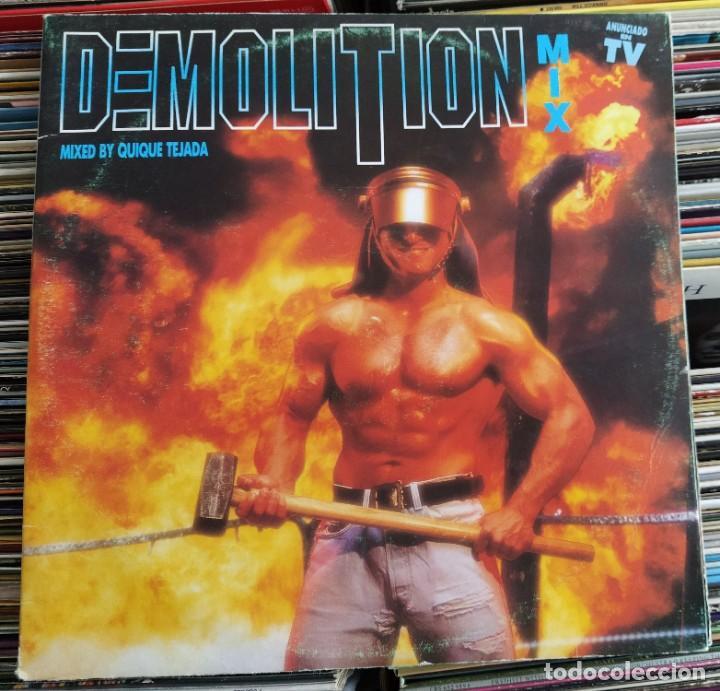 DEMOLITION MIX (2 LP, COMP) BLANCO Y NEGRO MXLP-490 (VG+) (Música - Discos - LP Vinilo - Disco y Dance)