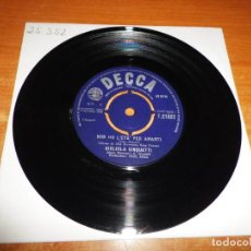 Discos de vinilo: GIGLIOLA CINQUETTI NON L´ETA´ PER AMARTI EUROVISION 1964 SINGLE VINILO 1964 UK CONTIENE 2 TEMAS. Lote 205560445