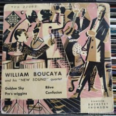 "Discos de vinilo: WILLIAM BOUCAYA AND HIS ""NEW-SOUND"" QUARTET - GOLDEN SKY (7"", EP) (TELEFUNKEN) TFK 22062. Lote 205560571"