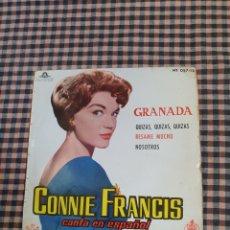 Discos de vinilo: CONTIENE FRANCIS CANTA EN ESPAÑOL GRANADA, QUIZAS, QUIZAS, BÉSAME MUCHO, NOSOTROS.. Lote 205563493