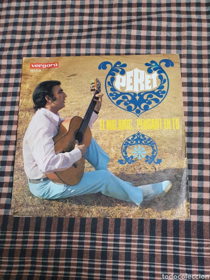 PERET, EL MIG AMIGO, PENSANT EN TU. VERGARA 45.271-A, 1968, RUMBA CATALANA. (Música - Discos - Singles Vinilo - Flamenco, Canción española y Cuplé)