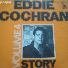 Discos de vinilo: EDDIE COCHRAN STORY VOLUME 4 LP. Lote 205566025