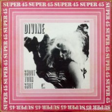 Discos de vinilo: DIVINE : SHOOT YOUR SHOT [ESP 1982] 12'. Lote 205566463