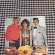 Discos de vinilo: LOS TRE DE CASTILLA, PULPA DE TAMARINDO OJOS DE ESPAÑA Y 4 MÁS, PERGOLA 10157, 1969.. Lote 205567926