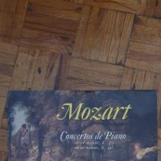 Discos de vinilo: MOZART*, MENAHEM PRESSLER, ORCHESTRE DE CHAMBRE DE VIENNE*, WILFRIED BÖTTCHER* ?– CONCERTOS DE PIANO. Lote 222362966