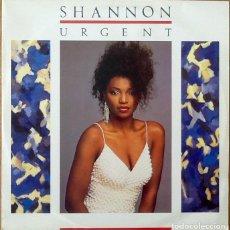 Discos de vinilo: SHANNON : URGENT [UK 1985] 12'. Lote 205570636