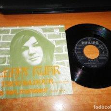 Discos de vinilo: LENNY KUHR DE TROUBADOUR EUROVISION 1979 SINGLE VINILO 1969 ESPAÑA 2 TEMAS. Lote 205571931