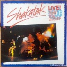Discos de vinilo: SHAKATAK : LIVE! [ESP 1985] LP. Lote 205572772