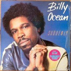 Discos de vinilo: BILLY OCEAN : SUDDENLY [FRA 1984] LP. Lote 205573906