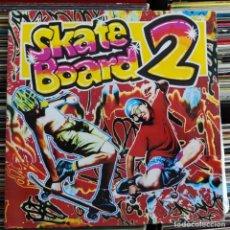 Discos de vinilo: SKATE BOARD 2 (BLANCO Y NEGRO MX-LP-263) (2 LPS, ALBUM). Lote 205576430