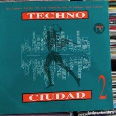 Discos de vinilo: TECHNO CIUDAD 2 (DRO 4509 93163 1) (VINYL, LPS, ALBUM). Lote 205576722