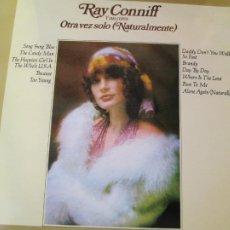 Disques de vinyle: RAY CONNIFF Y SUS COROS - OTRA VEZ SOLO (NATURALMENTE) - CBS 1972.. Lote 205576842