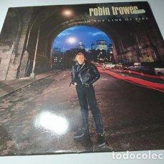 Discos de vinilo: LP - ROBIN TROWER – IN THE LINE OF FIRE - 7567-82080-1 ( VG+ / VG+ ) EURO 1990. Lote 205578053