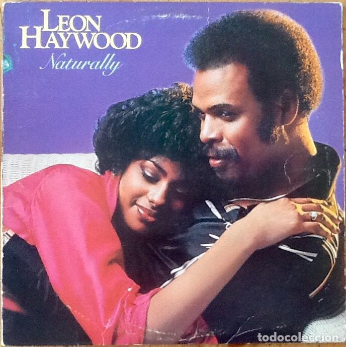 LEON HAYWOOD : NATURALLY [USA 1980] LP segunda mano