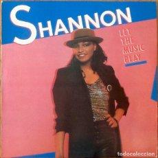Discos de vinilo: SHANNON LET THE MUSIC PLAY [ESP 1984] LP. Lote 205579920