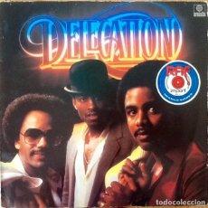 Discos de vinilo: DELEGATION : DELEGATION [DEU 1981] LP. Lote 205581345