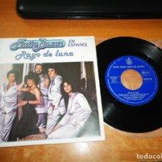 Discos de vinilo: MATIA BAZAR RAYO DE LUNA CANTADO EN ESPAÑOL EUROVISION 1979 SINGLE VINILO 1979 ESPAÑA 2 TEMAS. Lote 205582203