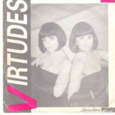 Discos de vinilo: VIRTUDES / AMOR EN BOTE - TRES PALMEROS BENGALIES (SINGLE 1989). Lote 205582320