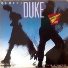 Discos de vinilo: GEORGE DUKE : THIEF IN THE NIGHT [DEU 1985] LP. Lote 205582435