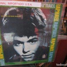 Discos de vinilo: RAPHAEL DIGAN LO QUE DIGAN ( U.S.A ). Lote 205585765