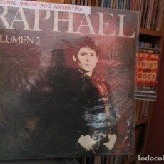 Discos de vinilo: RAPHAEL VOLUMEN 2 / ARGENTINA ) AVE MARIA / HAVA NAGUILA / QUE SEAS TU / COSTUMBRES / ETC.... Lote 205587307