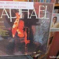 Discos de vinilo: RAPHAEL ( U.S.A. ) EL CANTOR / PERFIDIA ( AVE MARIA / QUIERO UN AMANTE / DIGAN LO QUE DIGAN / ETC... Lote 205587567