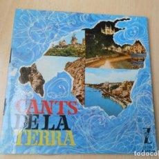 Discos de vinilo: CANTS DE LA TERRA - CONJUNTO CANTS DE LA TERRA, EP, BOLERO TONI MORENO + 7, AÑO 1964. Lote 205587646