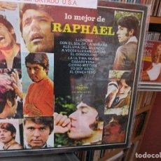 Discos de vinilo: RAPHAEL ( U.S.A. ) YO SOY AQUEL / EL GONDOLERO / CABARETERA / A VECES LLEGAN CARTAS / ETC..... Lote 205587755