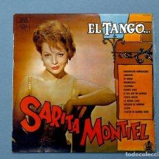Discos de vinilo: VINILO LP DE SARITA, SARA, MONTIEL: EL TANGO (DESDE LA ARGENTINA). HISPAVOX, 1984. EXCELENTE ESTADO.. Lote 205587878