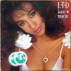 Discos de vinilo: L.T.D. : LOVE MAGIC [USA 1981] LP. Lote 205589046