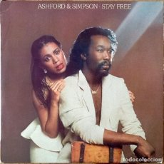 Discos de vinilo: ASHFORD & SIMPSON : STAY FREE [ESP 1979] LP. Lote 205589682