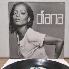 Discos de vinilo: DIANA ROSS - DIANA 1980 ED ALEMANA GATEFOLD CON ENCARTE. Lote 205590007