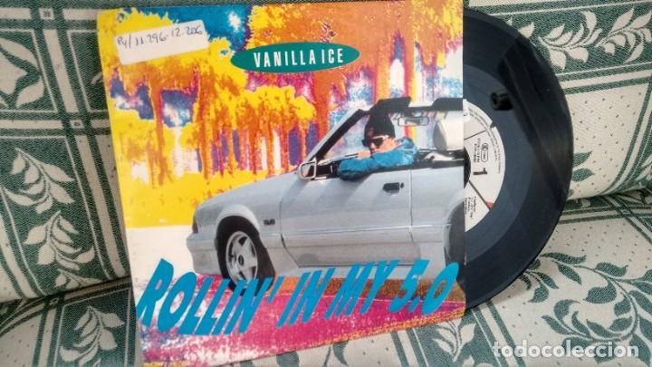 SINGLE ( VINILO) DE VANILLA ICE AÑOS 90 (Música - Discos - Singles Vinilo - Rap / Hip Hop)