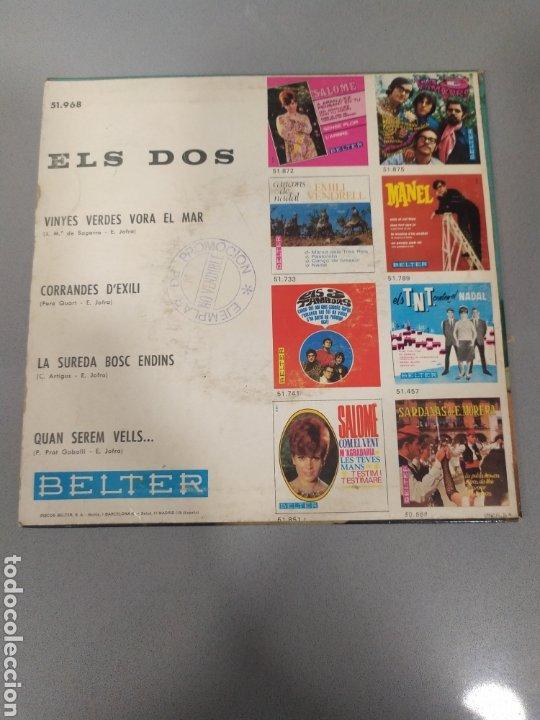 Discos de vinilo: Els dos - Foto 2 - 205592677