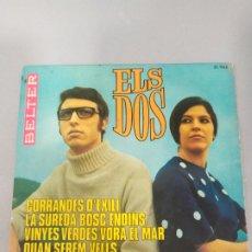 Discos de vinilo: ELS DOS. Lote 205592677