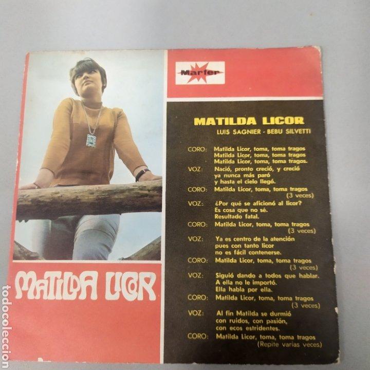 Discos de vinilo: Matilde licor - Foto 2 - 205593456