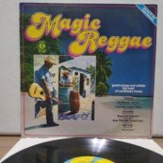 Discos de vinilo: MAGIC REGGAE 1979 ED ALEMANA / BOB MARLEY , THIRD WORLD , JIMMY CLIFF. Lote 205593861